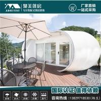 景区营地韩式风格酒店帐篷定制