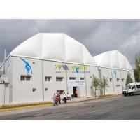 多拱形篷房-大跨度铝合金帐篷-体育帐篷定制