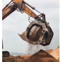 5-30吨挖机滚筒筛 砂石分级设备 挖掘机安装旋转筛分斗