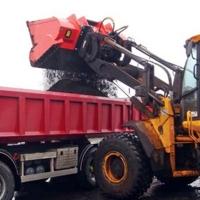 挖机破碎铲斗生活垃圾粉碎设备
