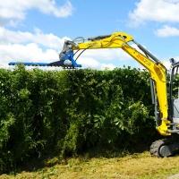 挖机割草机挖掘机剪草机公路杂草清理