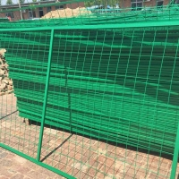 郑州直销定制边框护栏网车间隔离网圈地网