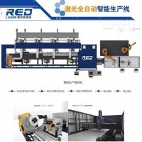 瑞尔多激光激光智能装备生产线 自动上下料 高效激光切管