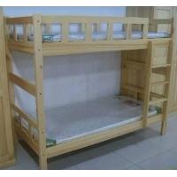 重庆实木公寓床上下铺高低床工程定制