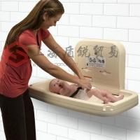 新生婴儿换尿布台壁挂折叠婴儿护理台考拉抗菌材料婴儿床
