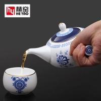 青花茶具骨瓷套装功夫茶具陶瓷促销礼品定制