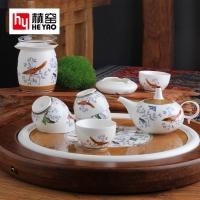 骨瓷功夫茶具套装陶瓷泡茶器礼品定制