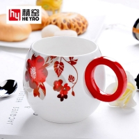 骨瓷马克杯定制礼品创意广告咖啡杯子陶瓷批发泡茶杯实用