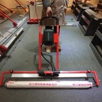 可調速款電動鋪膜機混凝土路面蓋膜機水泥鋪膜神器