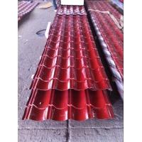 江蘇紅色彩鋼板琉璃瓦價格