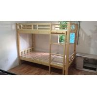 供应实木学生床,实木公寓床 高低床