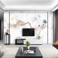 現代無縫電視壁畫-泰坦墻紙