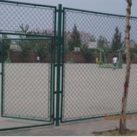 球场围栏网 勾花网护栏 学校公园体育场围网 菱形孔铁丝网