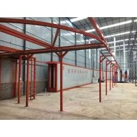 鋁單板鋁模板鋁型材靜電噴塑生產線