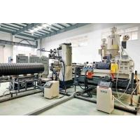 钢带增强螺旋管生产设备_PE塑料缠绕排污管生产线
