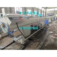 厂家价格明森塑机山东青岛PVC排水管生产设备50-160管径