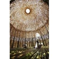 异形竹艺编织小屋,异形茅草亭,异形竹艺建筑,