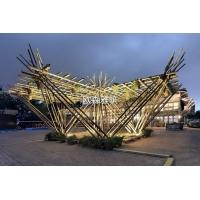 異形竹編建筑,竹藝裝飾,異形竹建筑定制,竹棚架