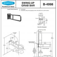 Bobrick B-4998残疾人扶手