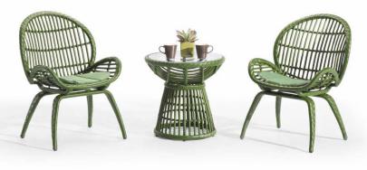 户外露天优质庭院家具组合沙发编藤桌椅反腐大自然系列