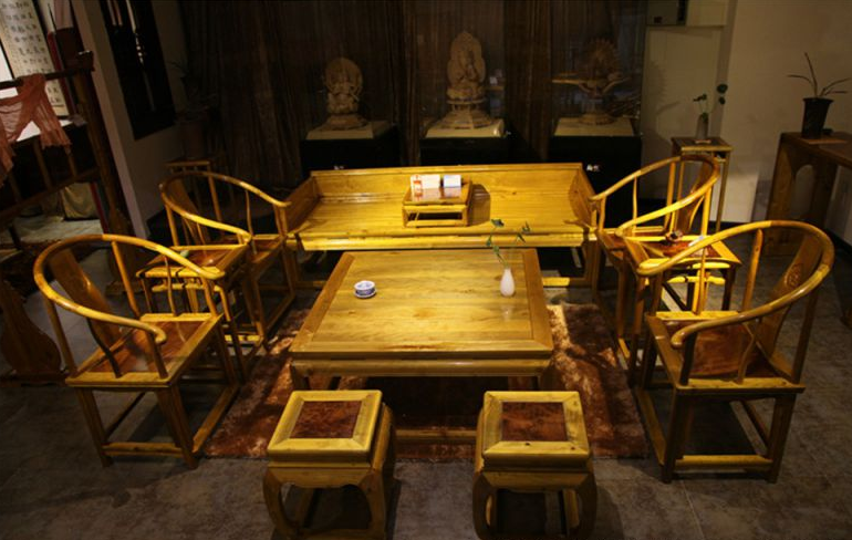 成都古典家具定制 成都唐人坊古典明清仿古家具 新中式实木家具