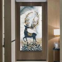 繪迦裝飾晶瓷畫-玄關畫