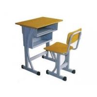 升降课桌椅套装_单人课桌椅海南批发价格_学生桌