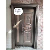 不锈钢门 镀铜门 仿铜门 别墅大门仿铜门