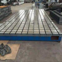 供應鑄鐵平臺 拼接焊接平臺 T型槽工作臺