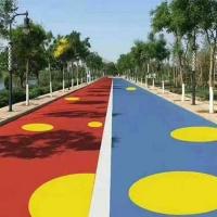 混凝土沥青路面 路面改色漆 彩色景观路面漆 人行道改色油漆