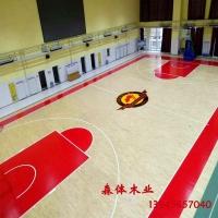 篮球木地板,篮球馆木地板,室内篮球馆木地板