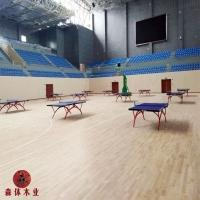 羽毛球馆木地板,舞台运动地板,篮球馆运动木地板