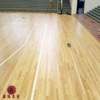 室内篮球馆木地板,篮球馆木地板翻新,篮球木地板施工方案