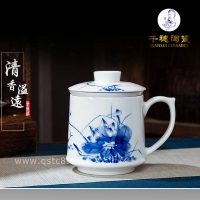 手绘茶杯批发市场_景德镇手绘茶杯定制生产