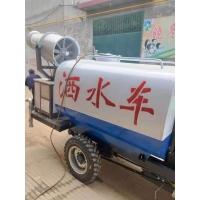 工地降塵三輪灑水車小型柴油霧炮車灑水霧炮機高炮機綠化水車