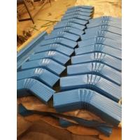 訂做特殊顏色130*100彩鋼落水管,加工144*108彩鋼