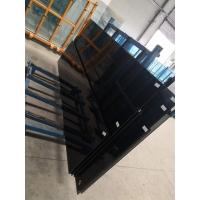 河南郑州6mm福特蓝镀膜夹胶夹层钢化玻璃