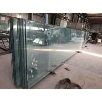 河南19mm厚超白+2.28PVB/SGP夾膠鋼化玻璃
