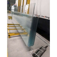 江蘇無錫市15毫米19毫米超白汽車展廳鋼化玻璃幕墻