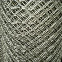 4毫米厚5厘米孔铝合金型材网厂房仓储车间窗户防盗围网