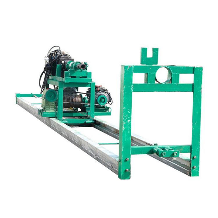 横向山泉钻机横井机 配套空压机发电机水气结合钻孔机 水平钻