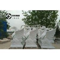 酒店别墅装饰天鹅雕塑大理石喷水吐水天鹅石雕