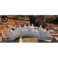 汉白玉石雕小桥庭院石雕小桥公园石桥栏板桥小溪石雕桥