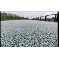 膠粘石,透水地面施工,透水路面施工,