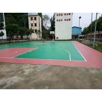 成都硅PU篮球场工程,新国标EPDM塑胶跑道批发厂家