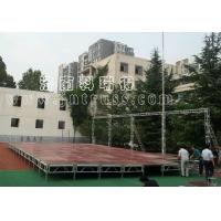 铝合金活动舞台架 组装移动升降台阶 户外演出活动t台
