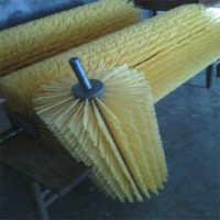 厂家直销尼龙毛刷辊 污水处理过滤滚筒毛刷 处理污水毛刷滚