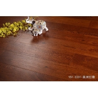 三杉地板(锁扣多层实木)—YS1-3331-美洲红橡