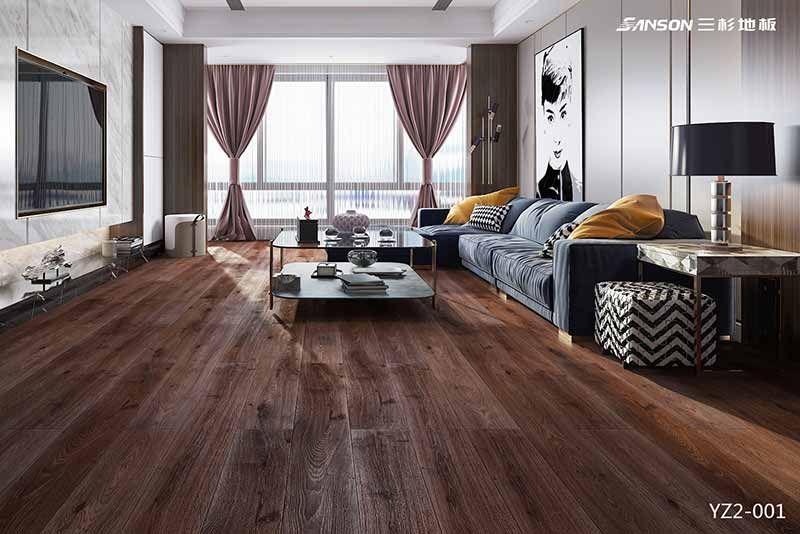 浸渍纸多层实木地板 YZ2-001