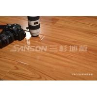 三杉地板(強化)—XY4-7235(窄)泰國金柚